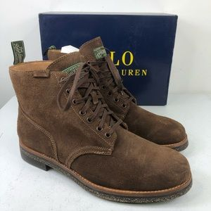 Polo Ralph Lauren Army Roughout Leather Suede Boot